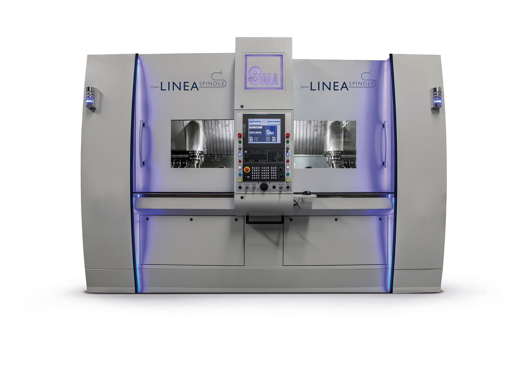 Sala srl - linea spindle - linear multi-spindle - numerically controlled - CNC