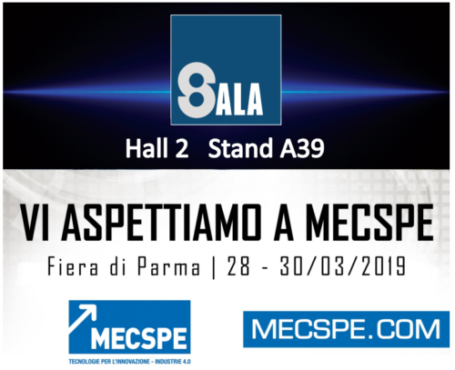 Sala srl - lathes - numerically controlled - CNC - Events - MECSPE 2019