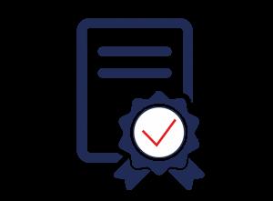 certificate icon - EN 9001