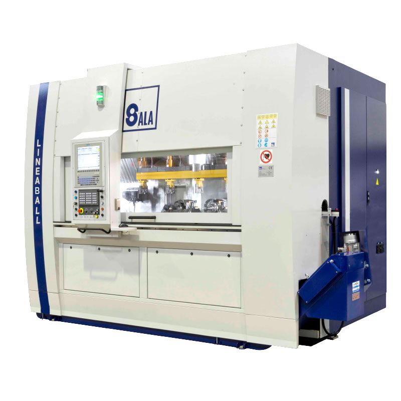 Sala srl - Linear multi-spindle CNC turning machine - Lineaball